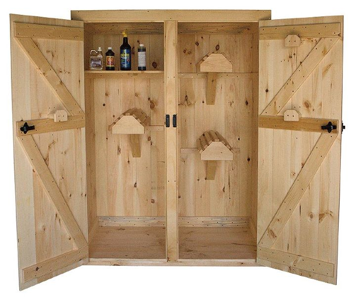 Saddle cabinets for safe storage add the necessities to