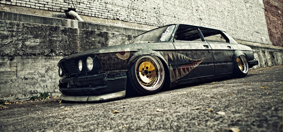 This Bmw E30 Is Called Rusty Slammington One Day I Was At