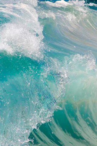 Hd Ocean Wave iphone wallpapers | Blue Wallpaper! | Iphone wallpaper, Waves wallpaper, Ocean waves