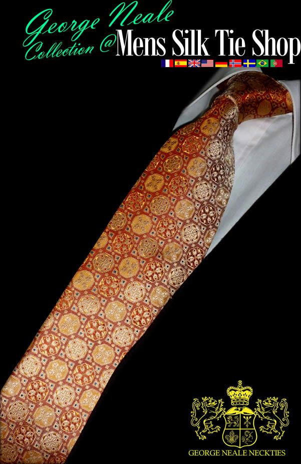 We make & design some of the most beautiful designer ties on the web . Many of our luxurious silk ties are used for weddings &  best man neckties  .