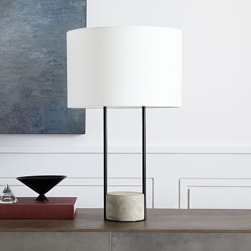 Industrial Outline Table Lamp Modern Table Lamp Lamps Living Room Table Lamp