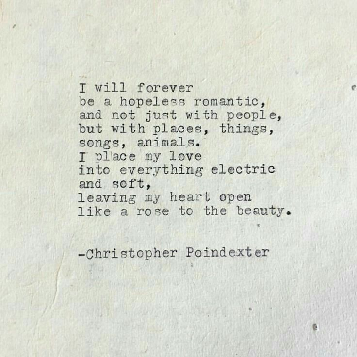 Idea by Terina Slack on Quotes | Hopeless romantic quotes ...