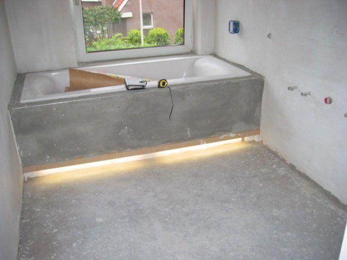 inbouw bad beton cire - Google zoeken | badkamer | Pinterest ...