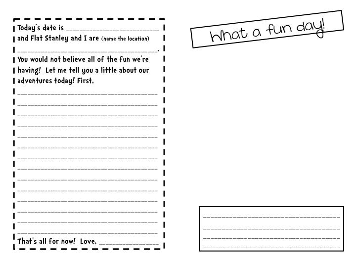 Printables Flat Stanley Worksheets 1000 images about flat stanley on pinterest flats travel and schools