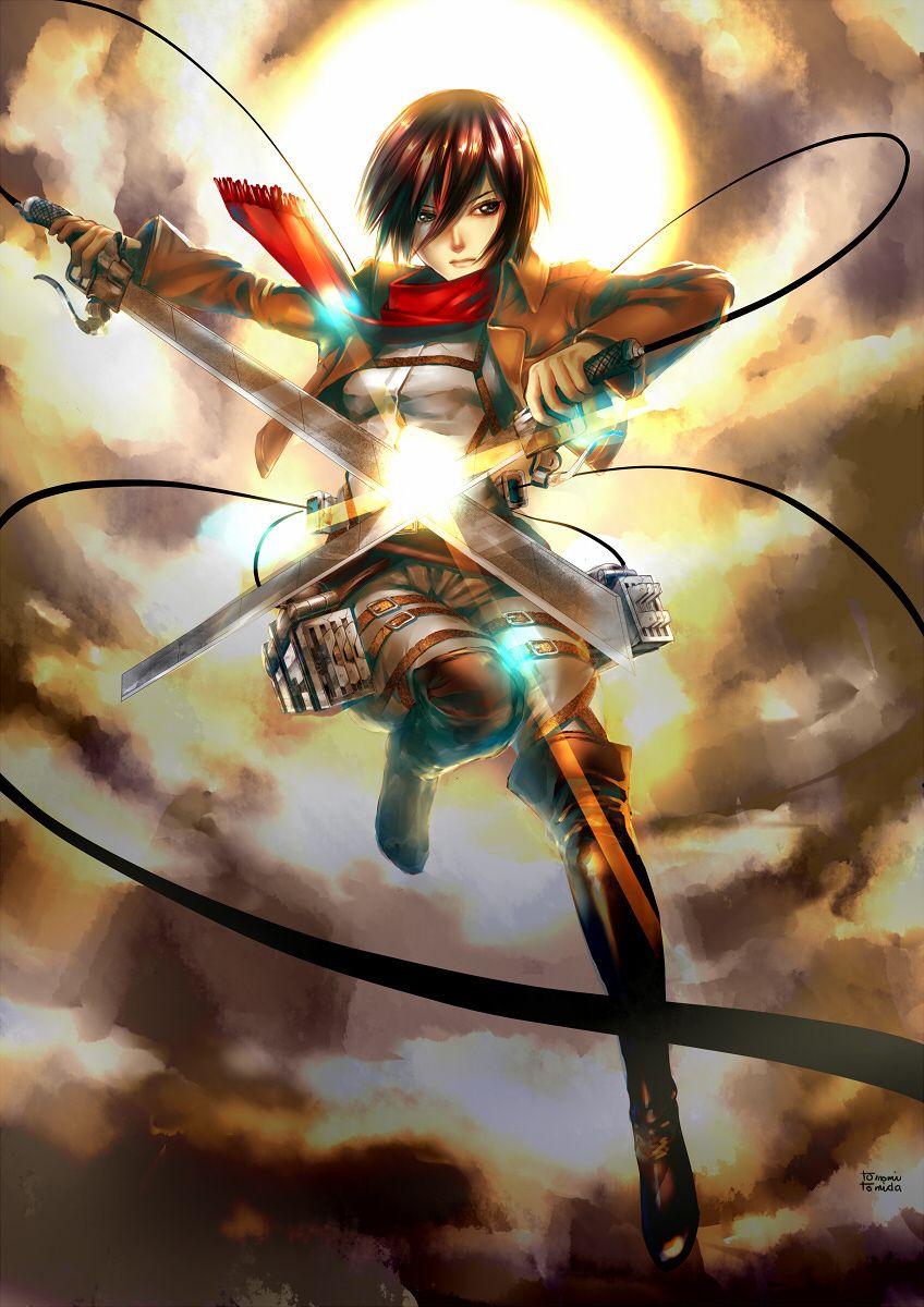 Tomomi Tomida On Tokyo Otaku Mode Mikasa Attack On Titan Anime Attack On Titan