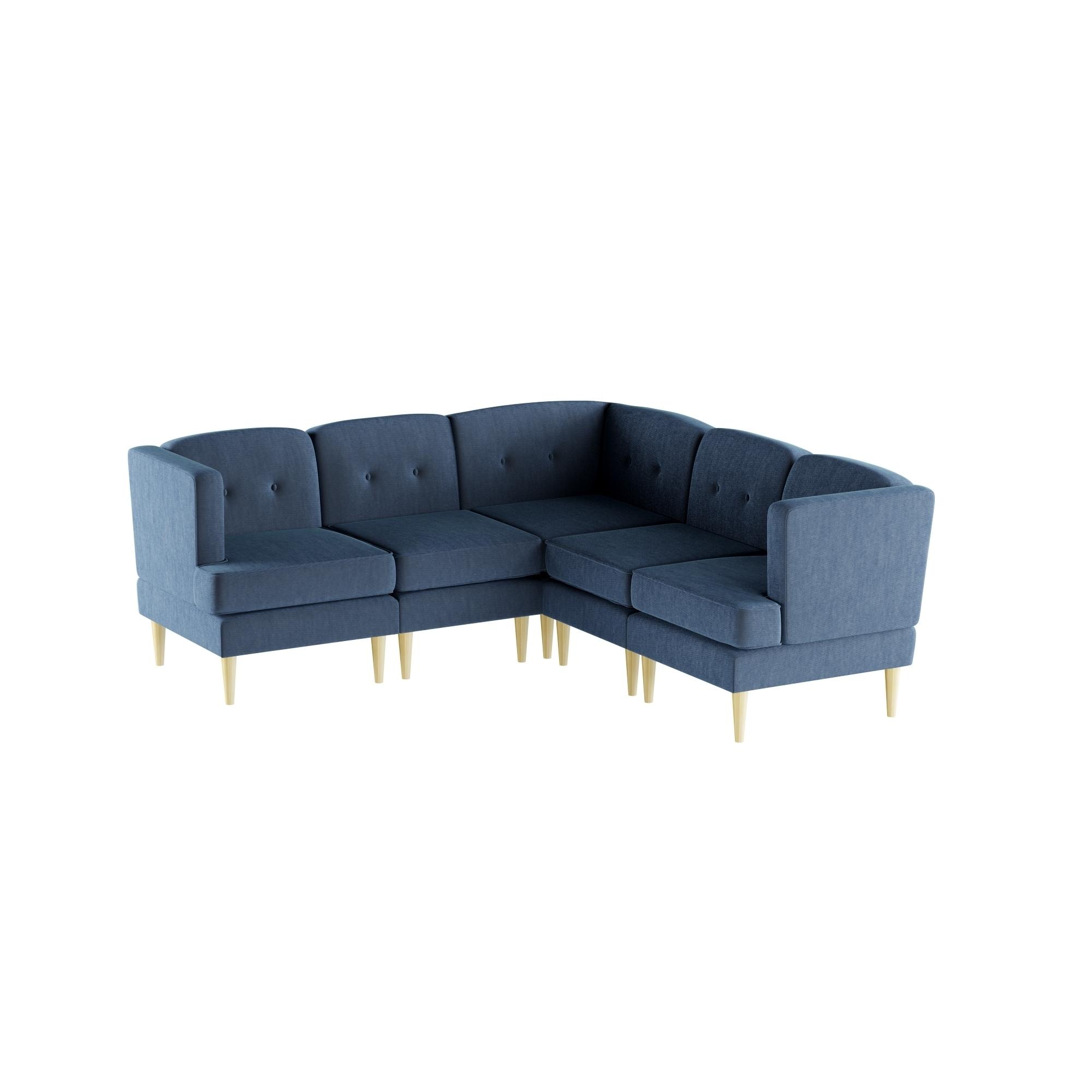 Prime Carson Carrington Larvik Mid Century Modern 5 Piece Fabric Unemploymentrelief Wooden Chair Designs For Living Room Unemploymentrelieforg