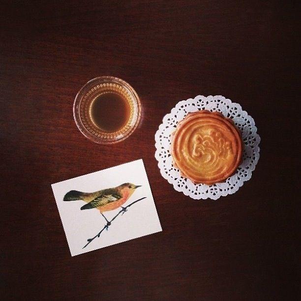 Moon cake by vanilla cafe bangkoj