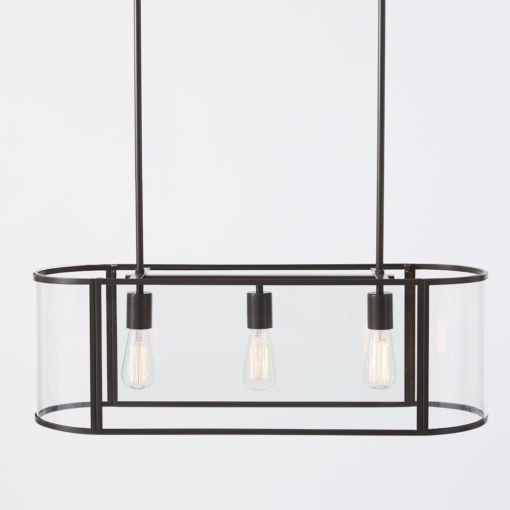 Trough chandelier flushmount chandeliers modern industrial and trough chandelier flushmount arubaitofo Choice Image