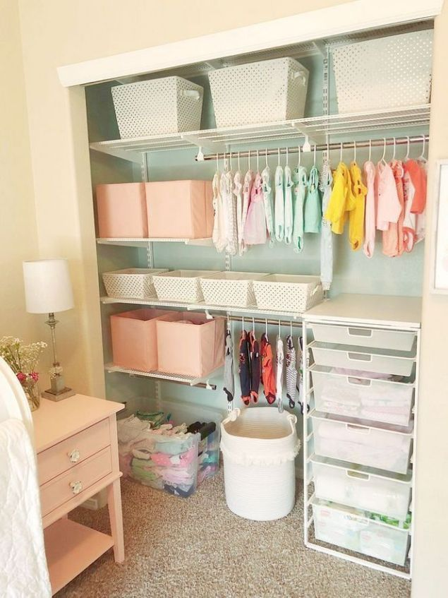 41 To Consider For Nursery Storage Ideas Small Room 45
