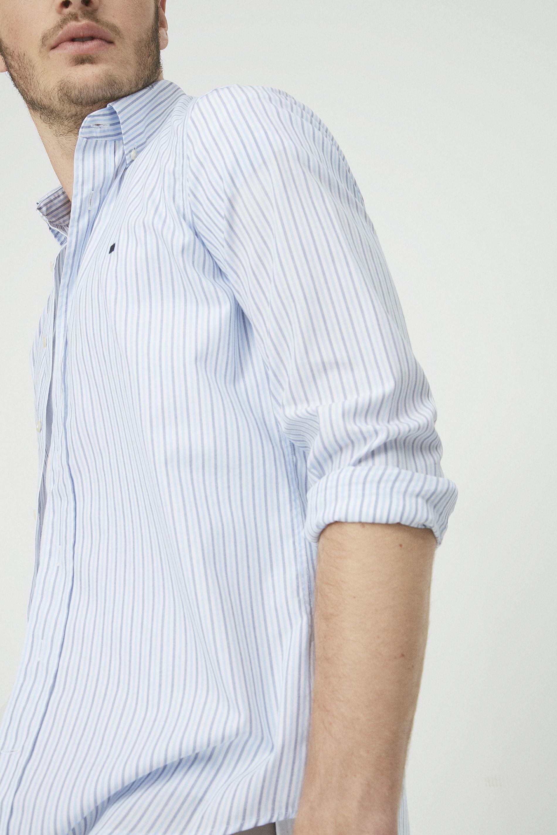 Camisa rayas bicolor  c885b0e34c98c