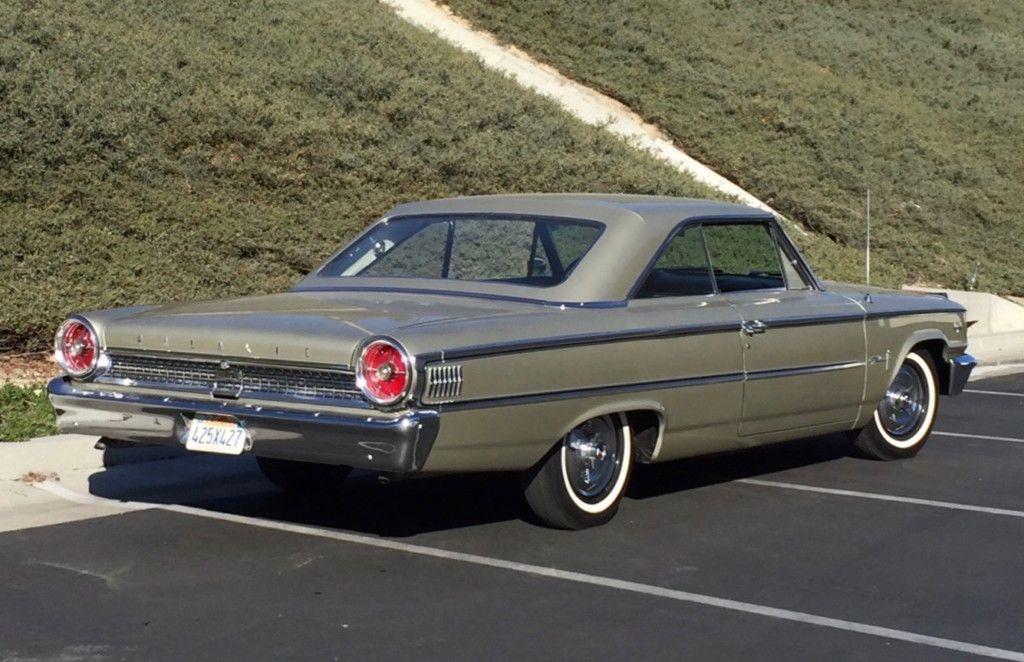 R Code 1963 Ford Galaxie 500 427 4 Speed Ford Galaxie Ford Galaxie 500 Ford Classic Cars