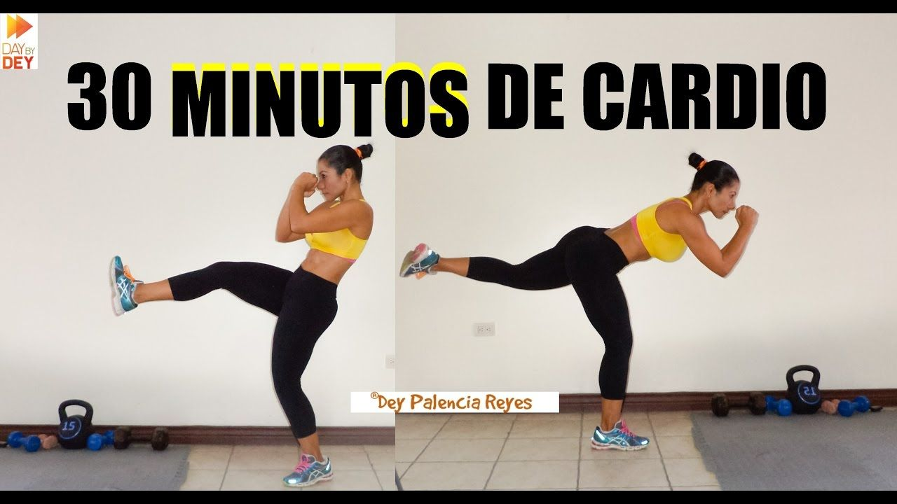Ejercicios para bajar de peso cardio 30 minutos