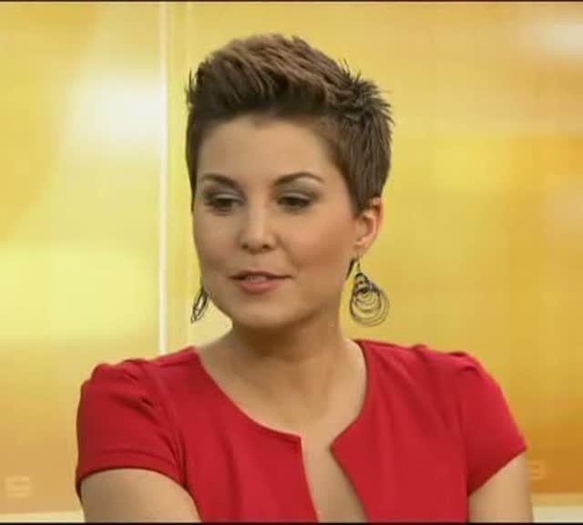 Miss Vanessa Blumhagen 03 Kurze Haare In 2019 Kurze Haare Und
