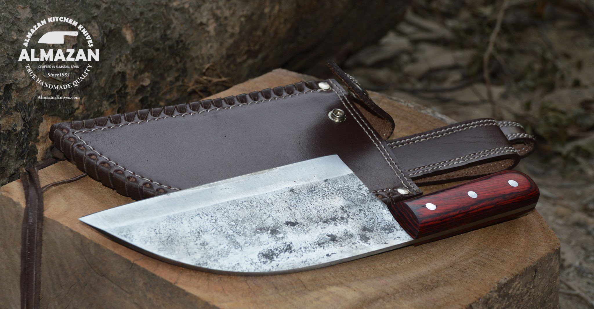 Almazan Kitchen Knife Is Hand Made With High Carbon Steel Leather Cover Included Remeber To Check Specials Sectio Kitchen Knives Knife Engraved Pocket Knives