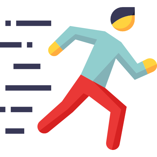 Running Man Free Vector Icons Designed By Mynamepong Vector Free Vector Icon Design Free Icons