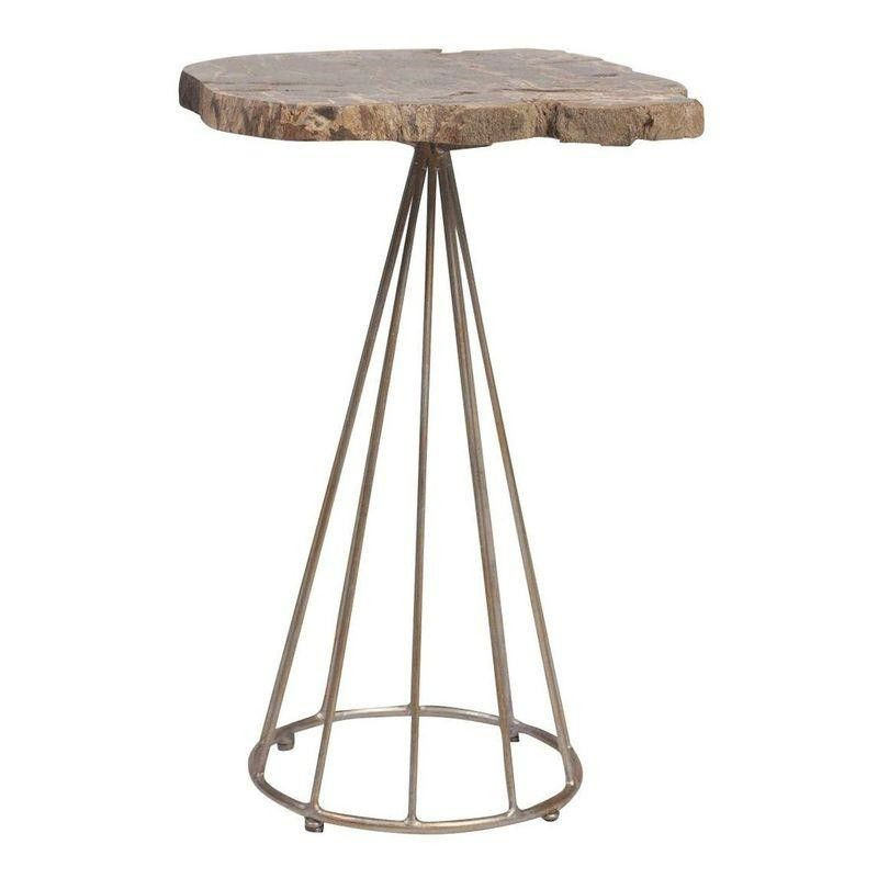 Shop Crystal Paleceku0027s San Francisco Bachelorette Pad On Chairish! | Rough  Marble Top Side Table