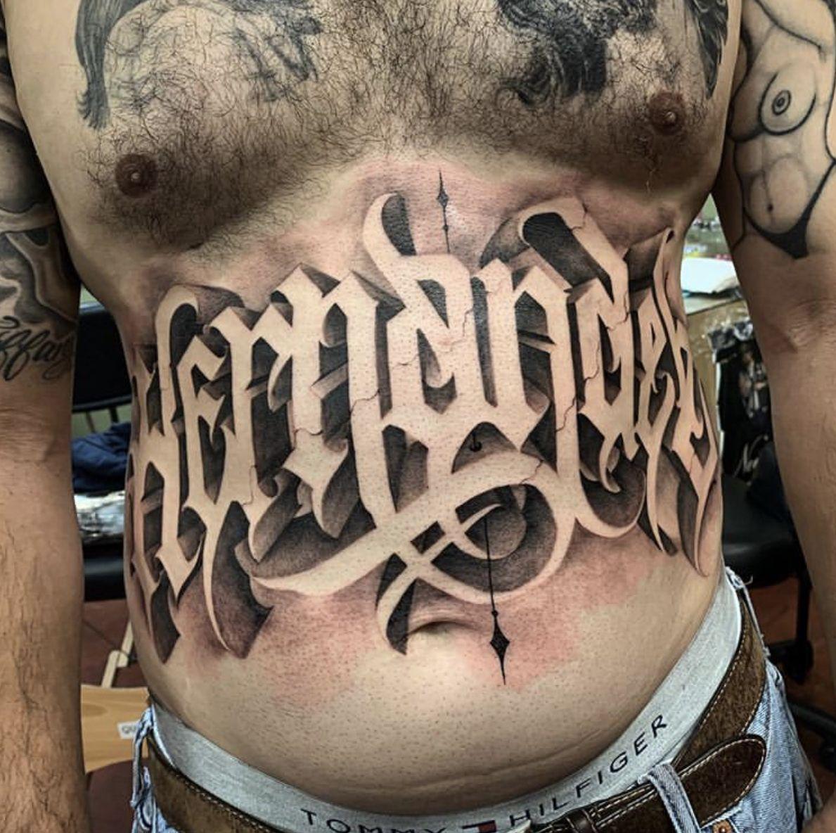 Pin De Eva Yackovskaya En Primery Lettering Tatu Letras De Chicano Tatuaje En La Panza Letras Para Tatuajes