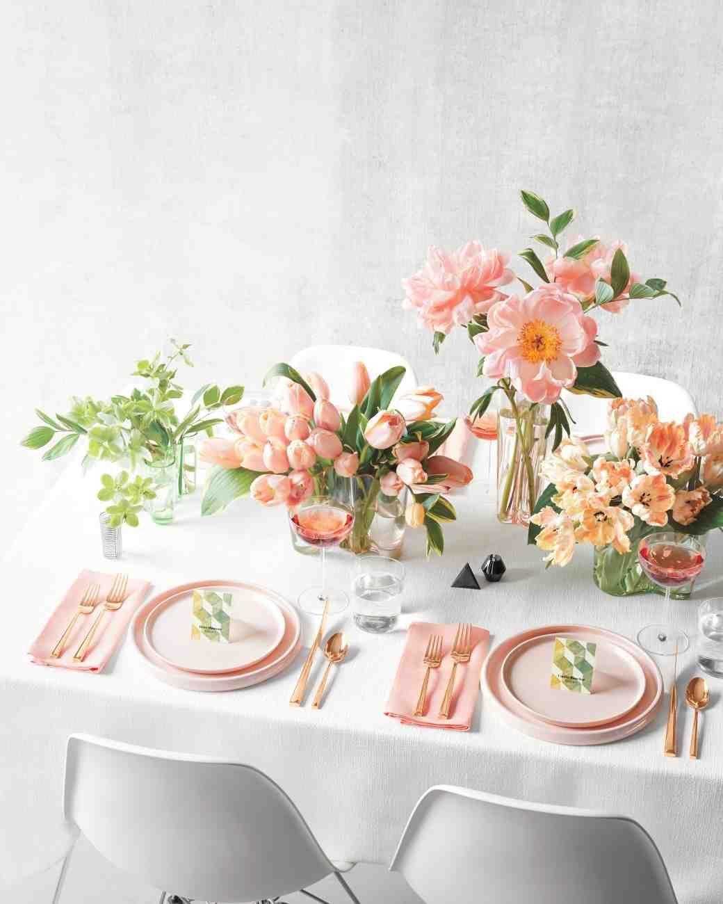 Wedding decorations home  Easter at Home Our Table u Menu Plans  blush hochzeit  blush