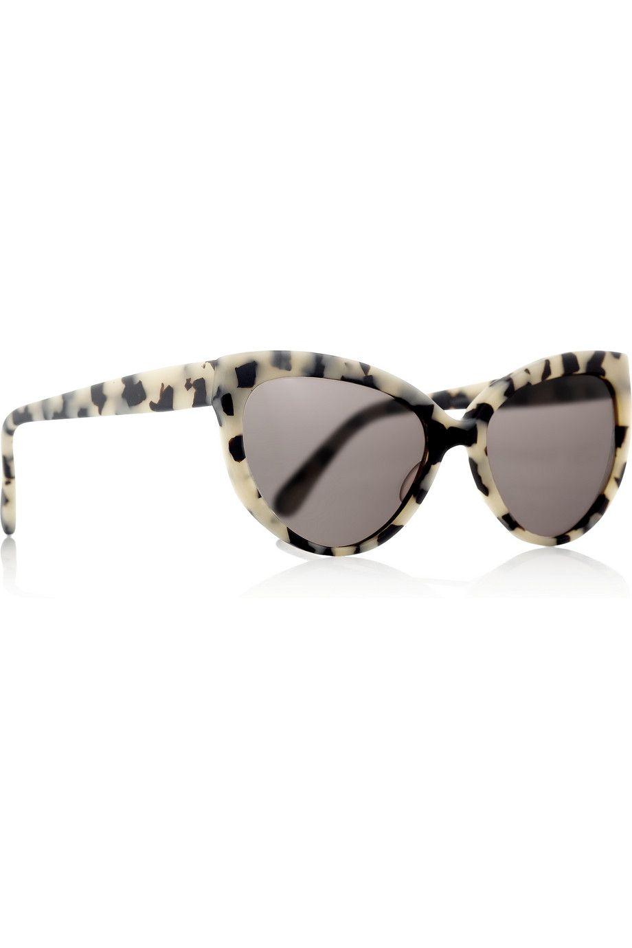 acetato montura gato de mate Prism de Portofino ojo de de con sol Gafas de tqfRn6