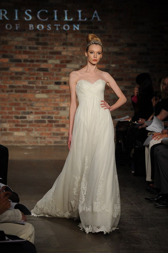 lace-embellished goddess gown - style 4602 by priscilla of boston ...