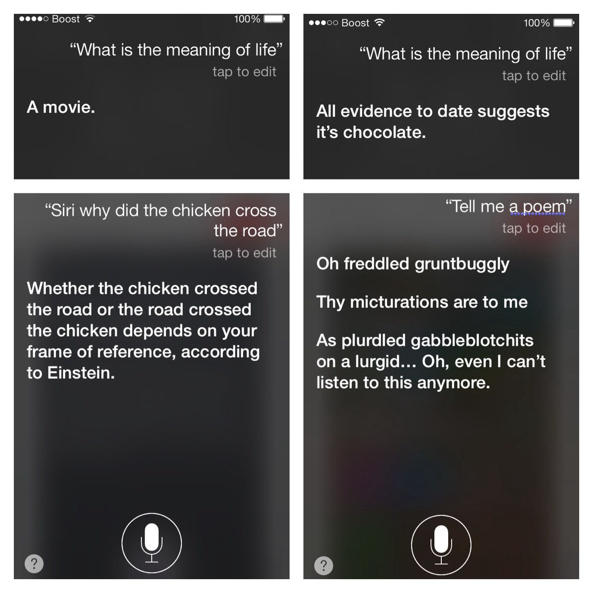Funny Things To Ask Siri Kid Friendly