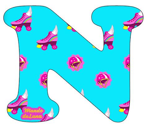 Alfabetos Infantiles Soy Luna Letra N Png 468 411 Son Luna Abecedario Fiestas De Soy Luna