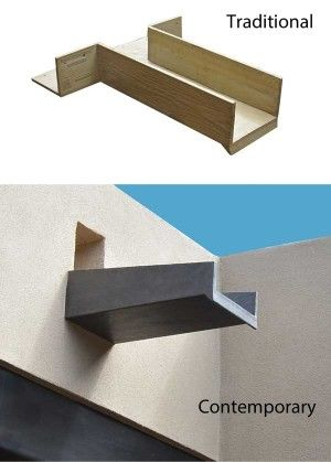 Canales Roof Scuppers Fiberspan Concrete Elements Roof Drain Wood Roof Roof Design