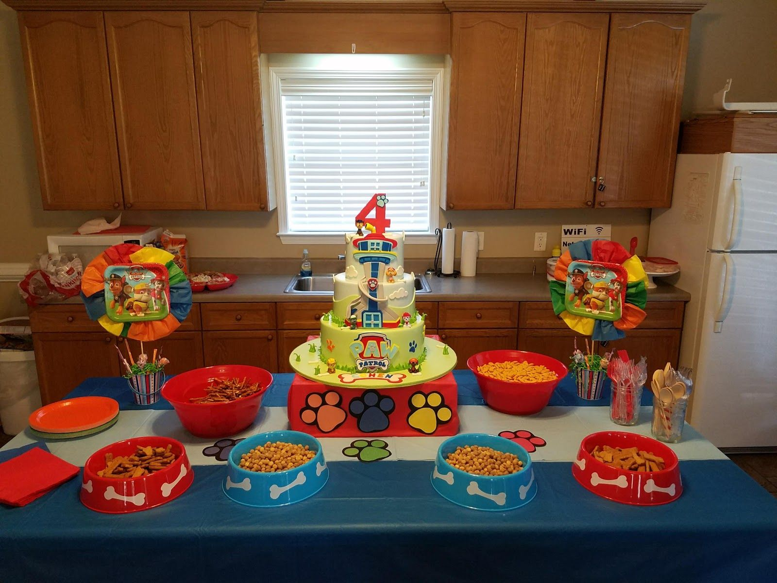 Paw Patrol Party Paw Patrol Paw Patrol Cake Paw Patrol Party