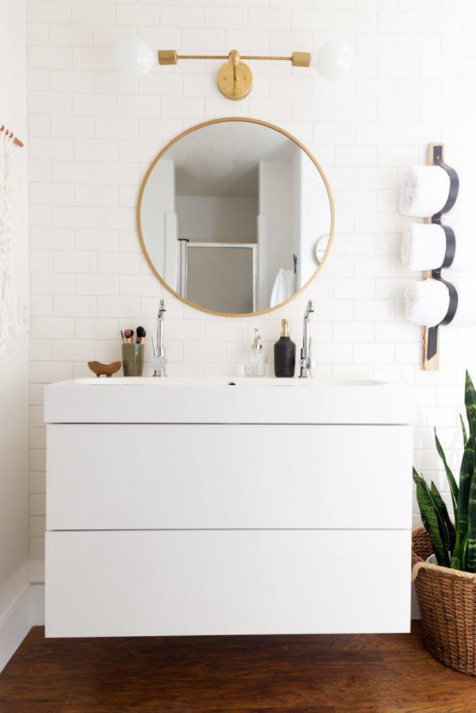 Mind Blowing 939 Bathroom Makeover Diy Badezimmerspiegel Runde