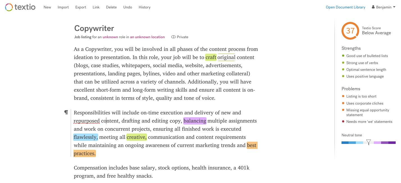 how to write a brilliant job description 2 templates  12