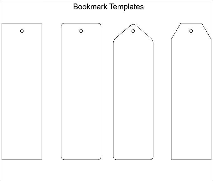 135 Blank Bookmark Templates Free Printable Bookmarks Bookmark