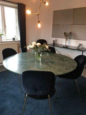 21.000 kr. - Spisebord, Marmor, Gubi Table 2.0, Smukt og eksklusivt ...