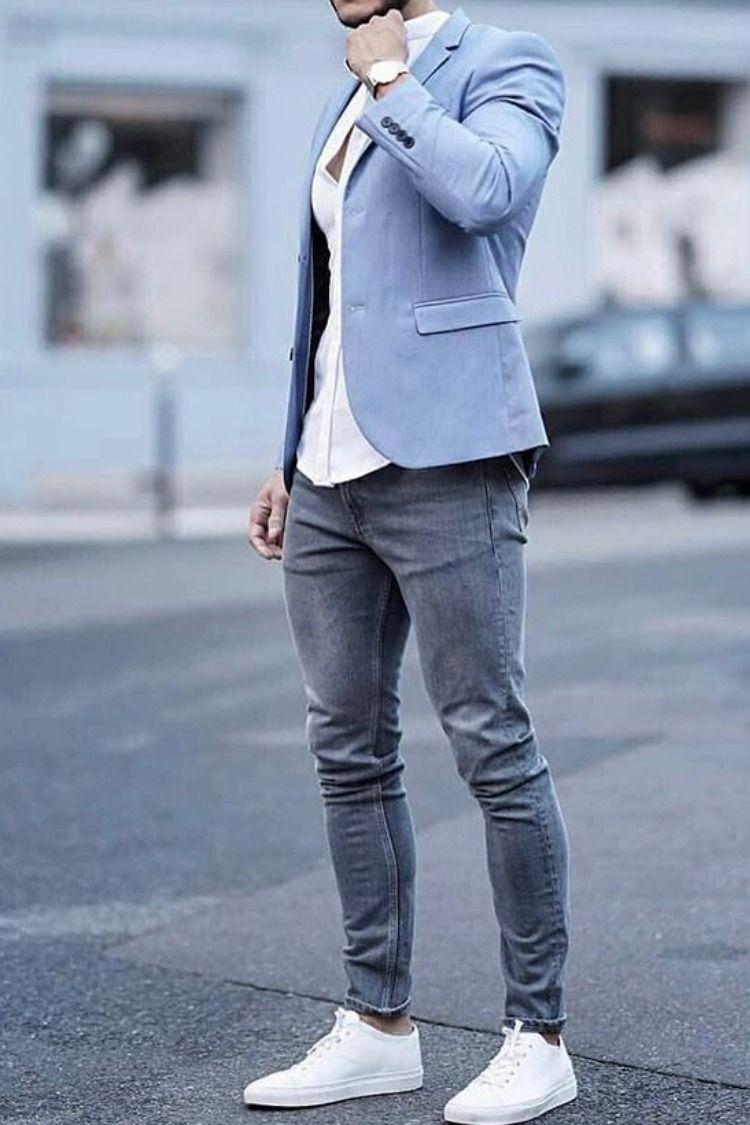Pin on White jeans men