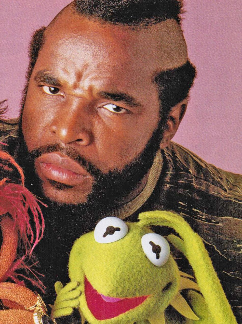 I pity the fool that tries to take my Muppets