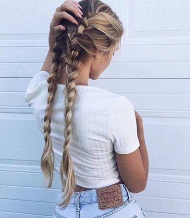 Mágico en el Oktoberfest: ¡40 peinados trenzados de los que enamorarte!  – Peinados