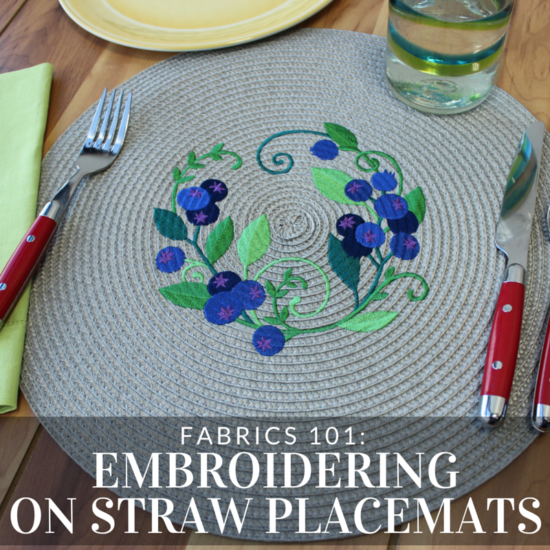 Designer Tips And Tricks For: Get Tips And Tricks For Adding Machine Embroidery To Straw