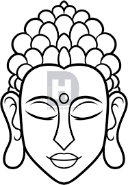 Pin By Veronica Heredia On Cool Ideas Buddha Drawing Buddha Painting Canvas Buddha Art