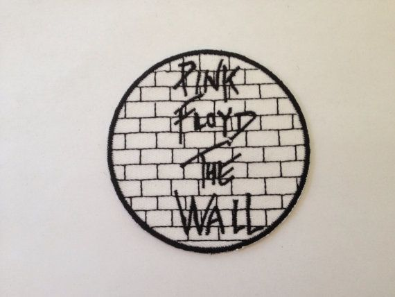 Pink Floyd Band Logo Patch Psychedelic Rock Music Embroidered Iron On Applique
