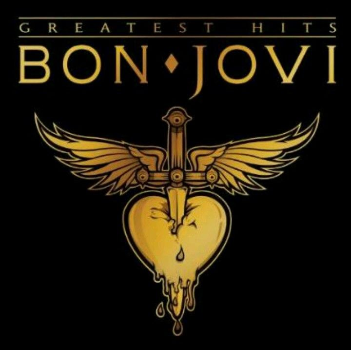 Bon Jovi Album Cover Bon Jovi Greatest Hits Bon Jovi Album Bon