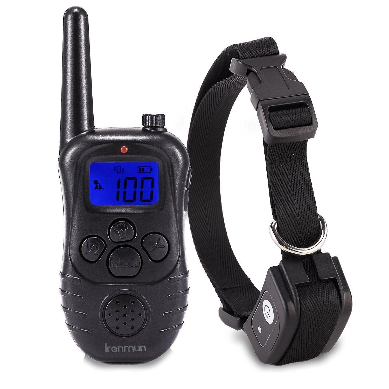 Iranmun 330 Yard Waterproof 330YD Remote Dog Training