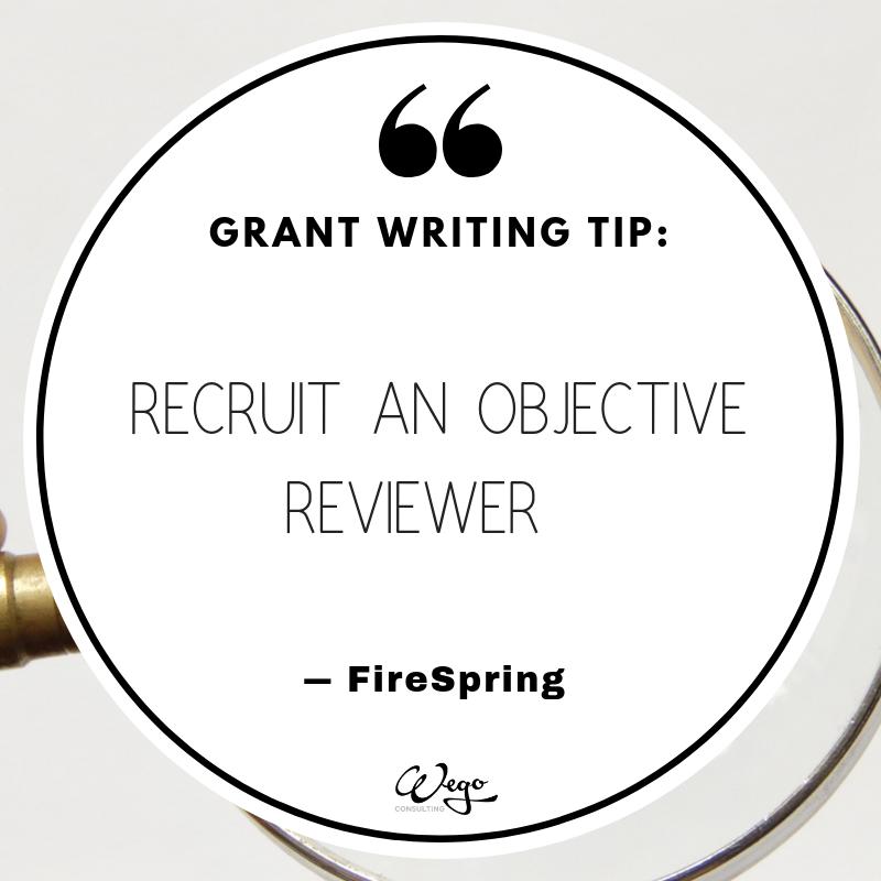 Grant Writing, Writing Tips, Writing