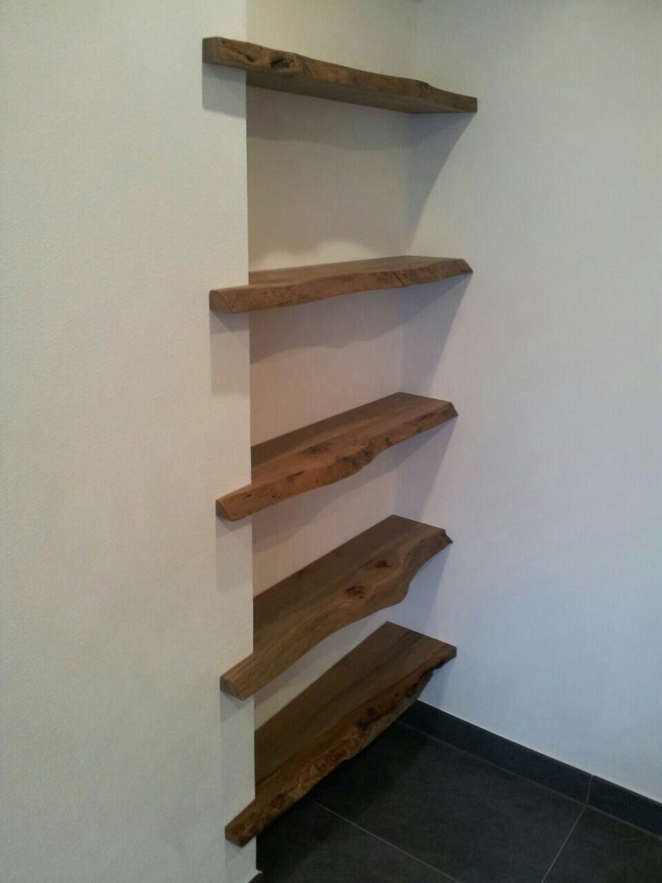 Pin by fgsd on Furniture | Wood shelves, Diy home decor ...