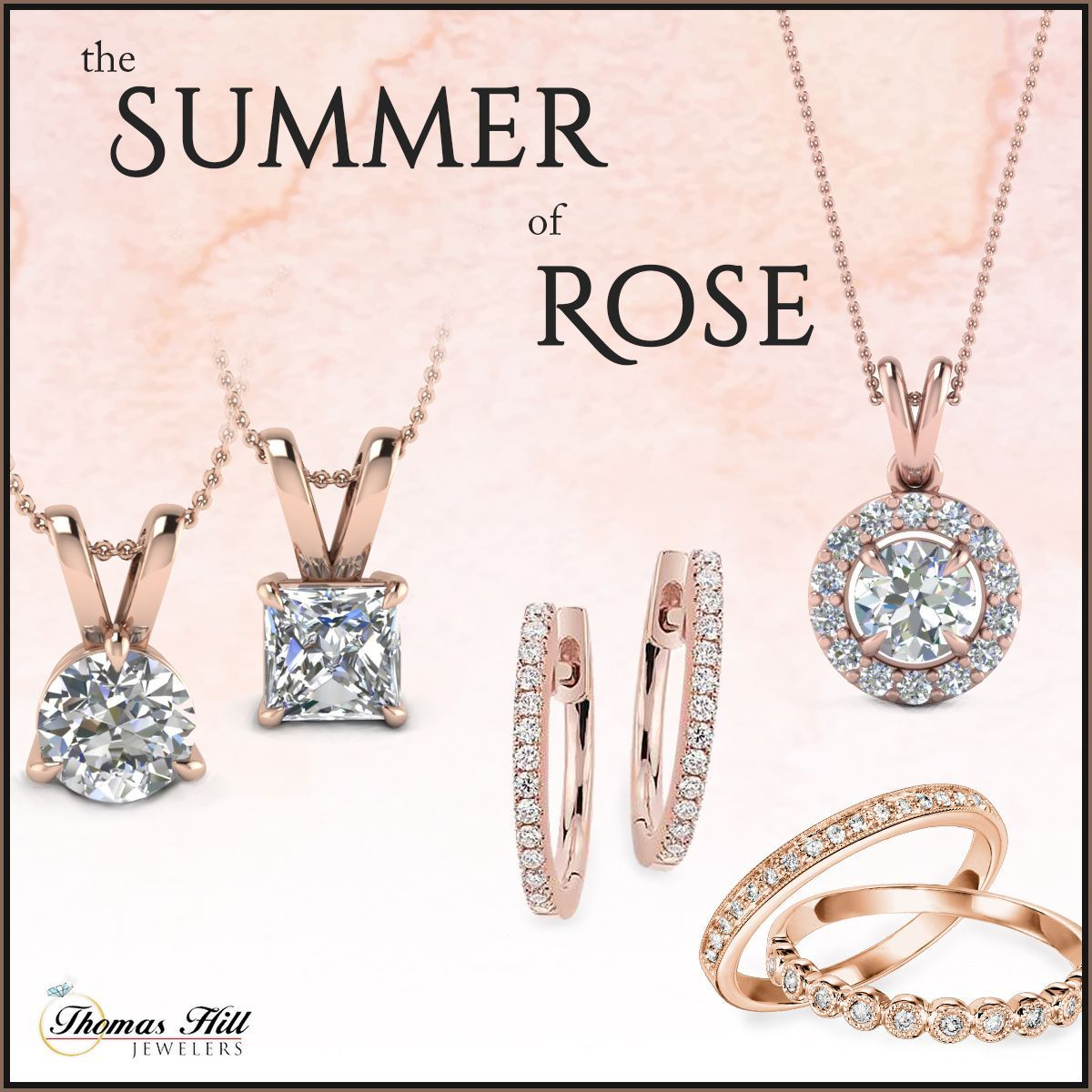 It S A Rose Gold Kind Of Day Is Rose Gold Jewelry Your Favorite Jewelry Diamond Gift Jewelry Stores