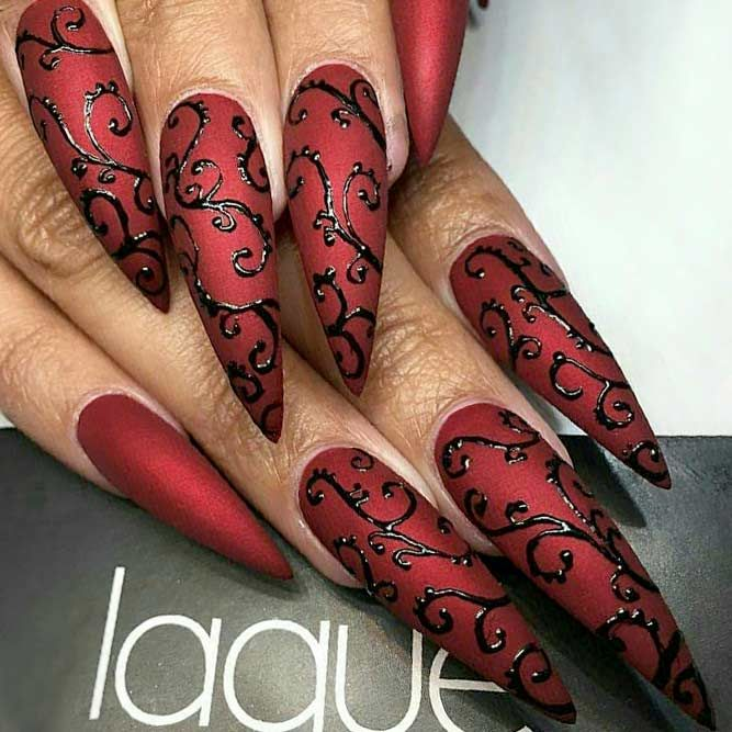 Inspiring Stiletto Nails To Win Over You | NailDes