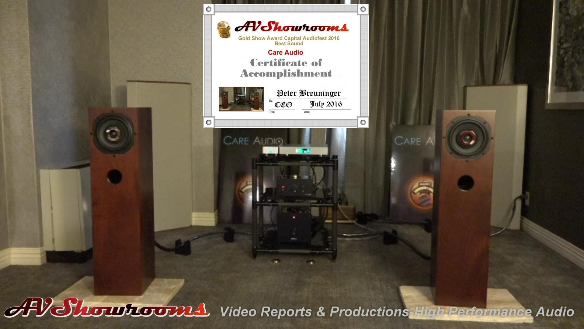 Mad Speakers Linear Tube Audio Lumin Room Treatments This Is The