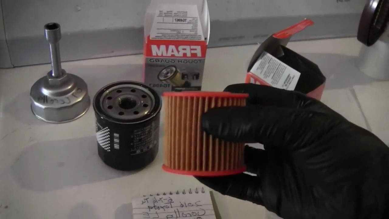 2010 toyota corolla oil filter fram