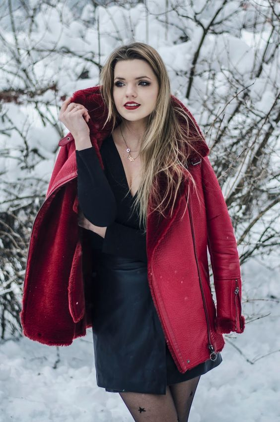 15 Sexy Winter Date Night Outfits  #Night #Outfits #Winter #datenightoutfit