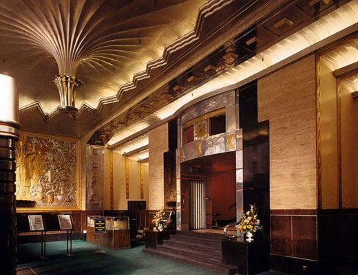 Deco Design Building Lobby