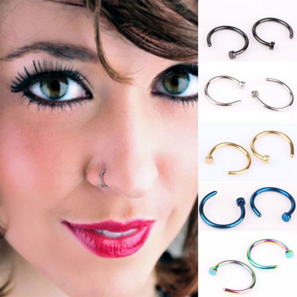 Piercing on nose  Body Piercing Jewelry Jewellery u Watches  Pinterest  Products