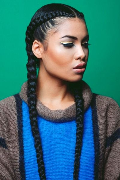 Top 10 African American Ponytails Styles 2016 Cool Braid Hairstyles Natural Hair Styles Braided Hairstyles